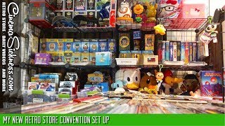 My New Retro Store Convention Set Up