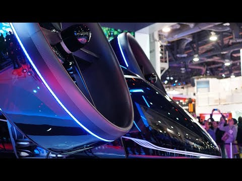 Inside Look Into BELL&#;s Hybrid Flying Car (CES )