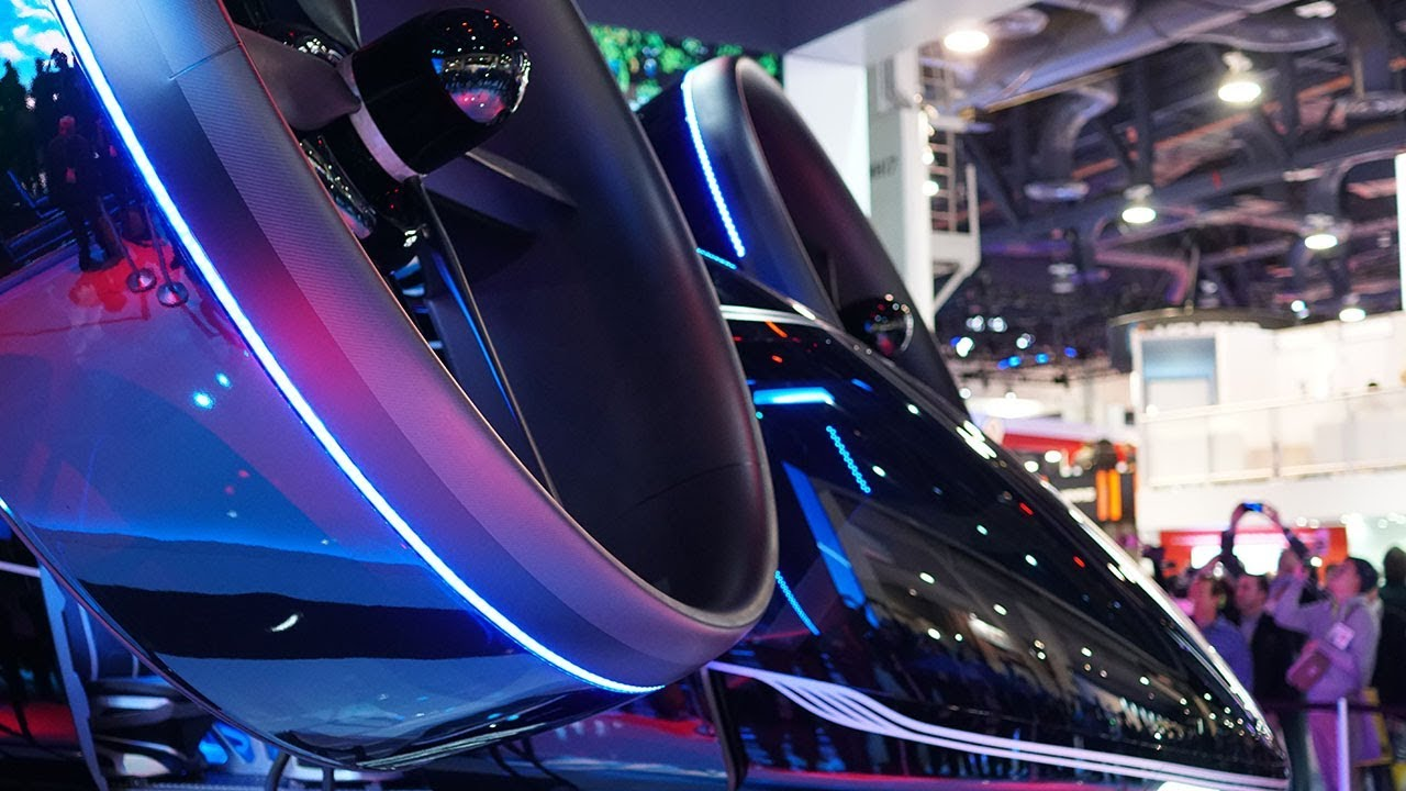Inside Look Into Bell S Hybrid Flying Car Ces 2019