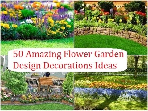 48 Amazing Flower Garden Design Decorations Ideas YouTube Inspiration Landscape Garden Design Decor