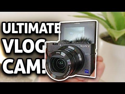 Best Vlogging Camera?! Sony RX100V Review