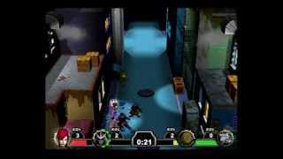TMNT Mutant Melee PS2 Multiplayer Gameplay (Mirage Studios / Konami) Playstation 2