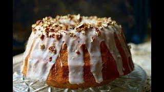 Southern Bourbon Pecan Bundt Cake