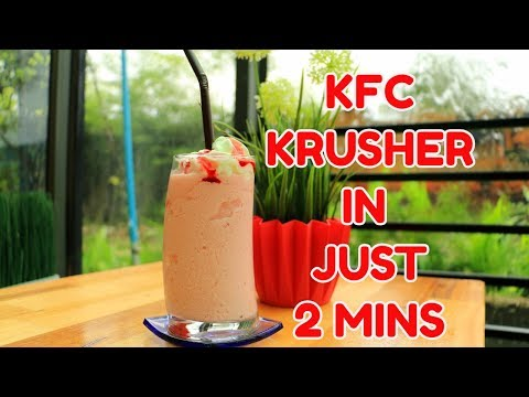KFC KRUSHERS RECIPE