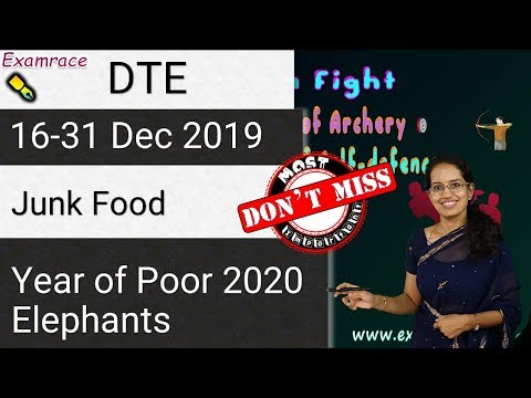 Down To Earth (DTE) 16-31 Dec 2019: Junk Foods, Duchenne Muscular Dystrophy (IAS 2020 Prelims)