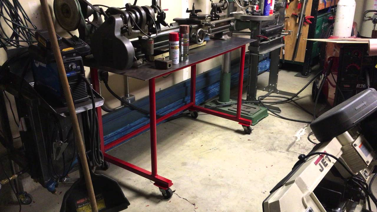 DIY Metal Lathe Table