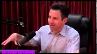Sam Harris & Joe Rogan - Funny Story About Eye Contact