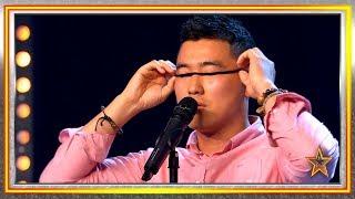 Este cómico coreano alucina a Paz Padilla con sus bromas | Audiciones 5 | Got Talent España 2019