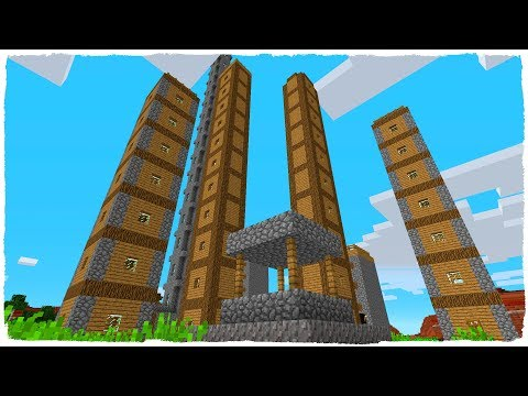 🏘️ THE HIGHEST VILLAGE IN MINECRAFT! 🏙️