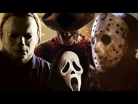 Michael Myers vs Jason Voorhees vs Freddy Krueger vs Ghost-Face vs The Selchies- Halloween ShortFilm