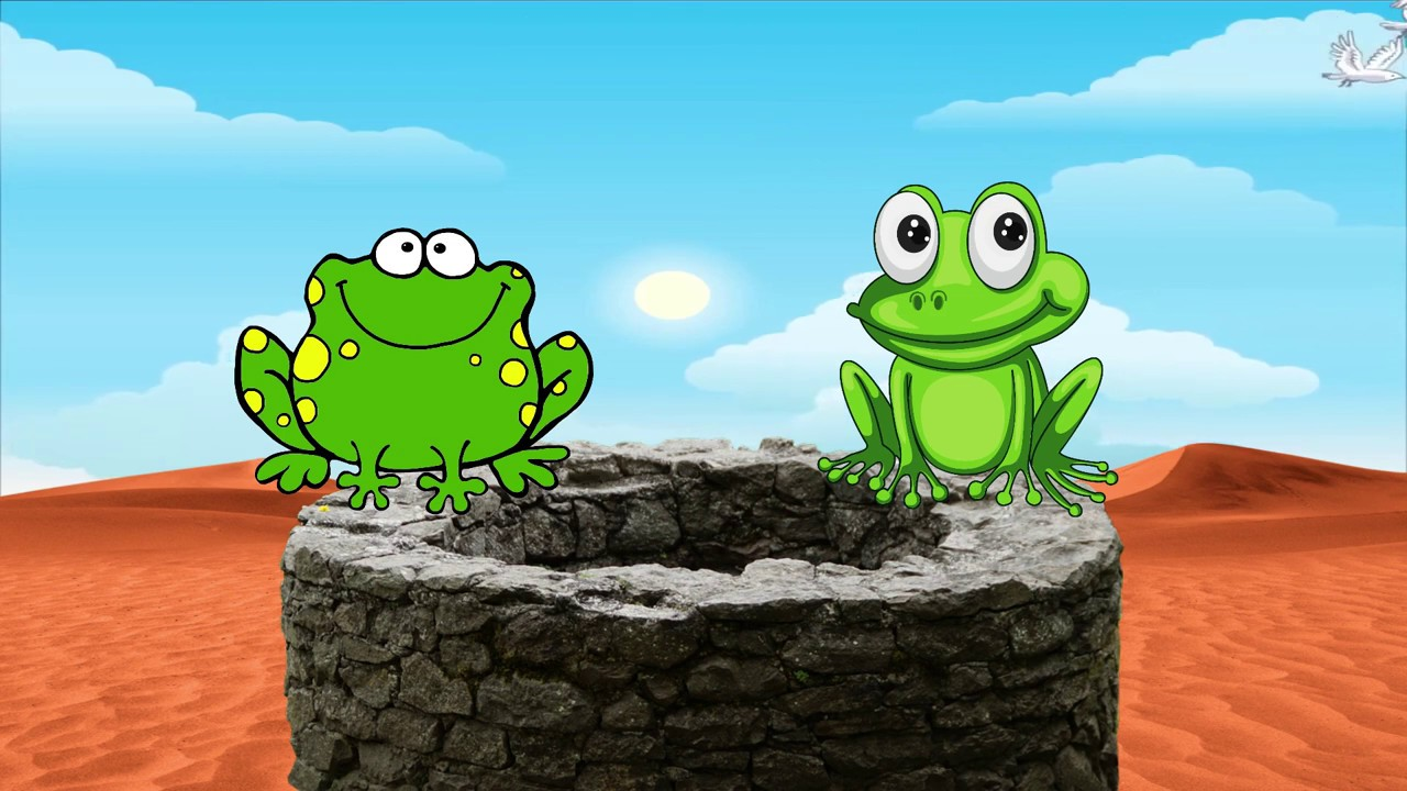 #154: The two frogs and the well | Two frogs story | frogs storie | Moral Stories | Frogs & well