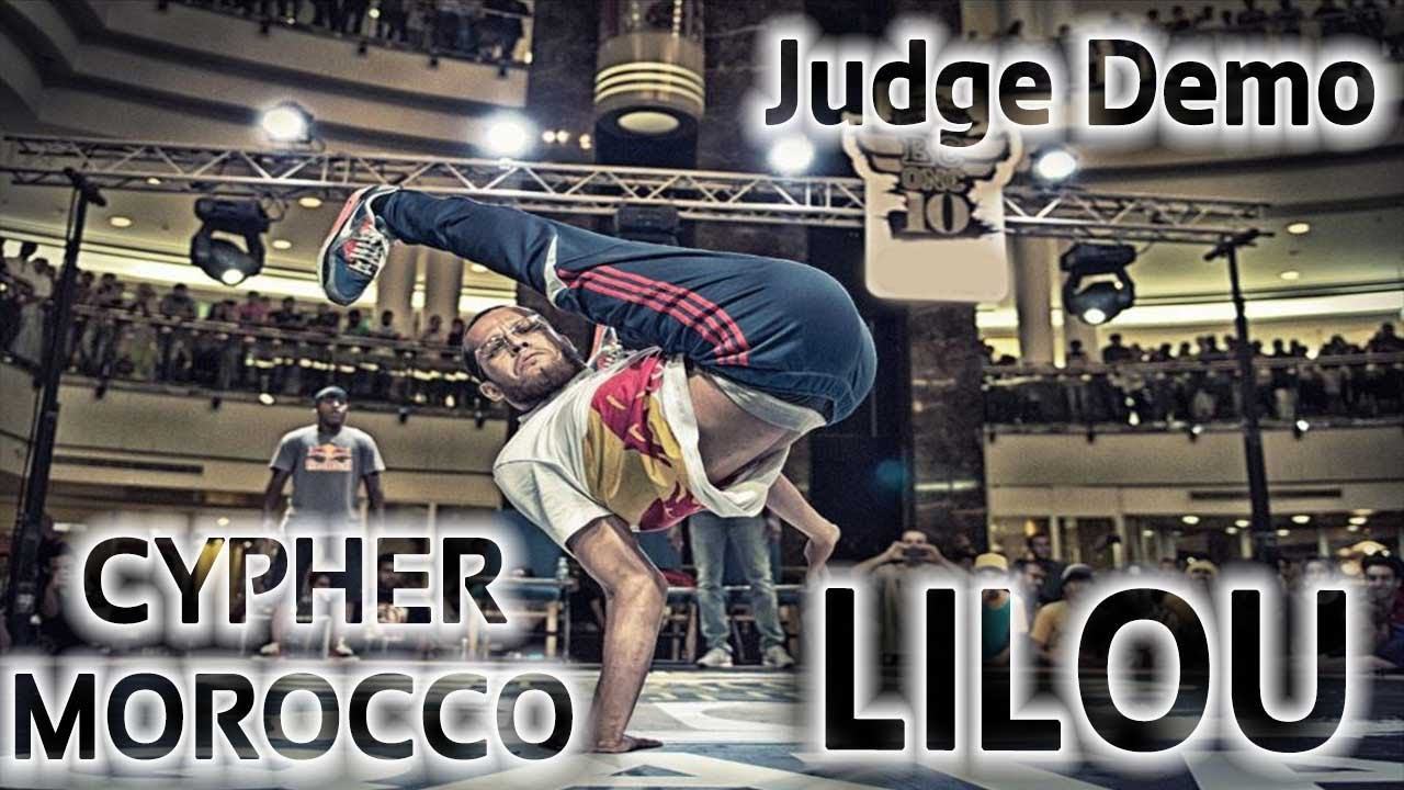B-BOY LILOU - Judge Demo - Final Redbull BC one Morocco 2013 | RH Visuel + Loud Vison