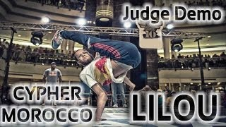 B-BOY LILOU - Judge Demo - Final Redbull BC one Morocco 2013 | Erash Movie + Loud Vison