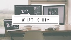 What is UI user interface design?