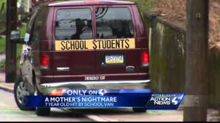 Mother of 7-year-old struck by school van speaks put
