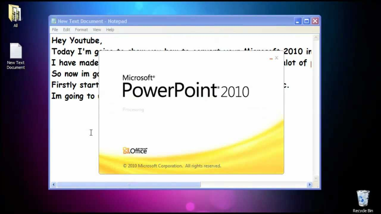 sv howto: how to convert microsoft office 2010 to microsoft office, Powerpoint templates