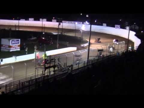 Port Royal Speedway 305 and 410 Sprint Car Highlights 10-11-14