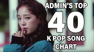 TOP 40 K POP SONGS • ADMIN'S CHART (NOVEMBER 2018 - WEEK 2)