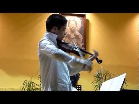 Niccolo Paganini: Theme and Variations A Major - Nikola Micovic (12)