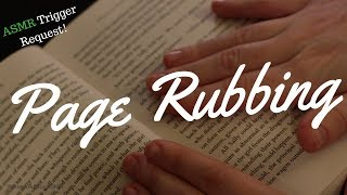 ASMR - Tingles App Request! Page Rubbing & Flipping
