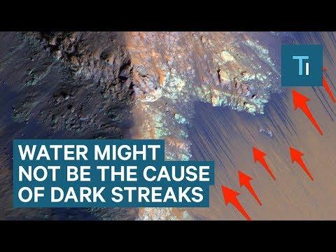 Liquid Water Isn't Flowing on Mars