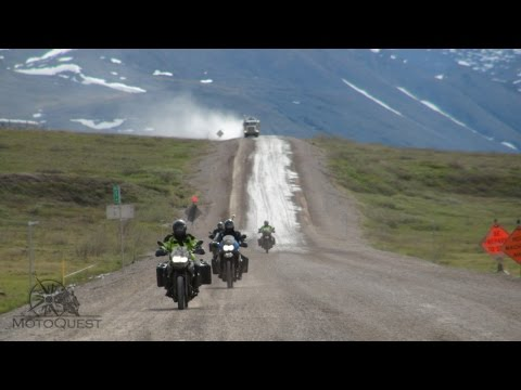 MotoQuest Alaska: Prudhoe Bay is No Sunday Drive