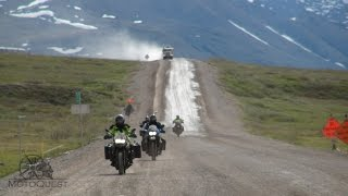 MotoQuest Alaska: Prudhoe Bay is No Sunday Drive