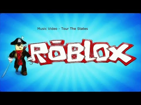 TOUR THE STATES OF THE USA (Roblox Music Video)