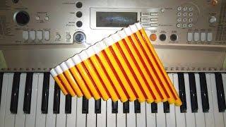 Пан флейта своими руками / Pan flute with own hands