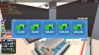I HIT 6 MIL ON JAIL BRAKE AND THE RICH SERVER (Roblox)