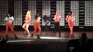 SMTOWN DANCE BATTLE - GO GIRL mirrored