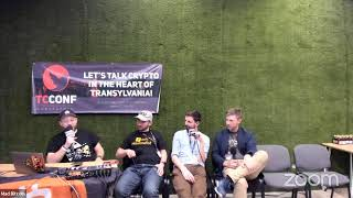 World Crypto Network #LIVE from TCConf in Transylvania (Day 2 - Part 1)
