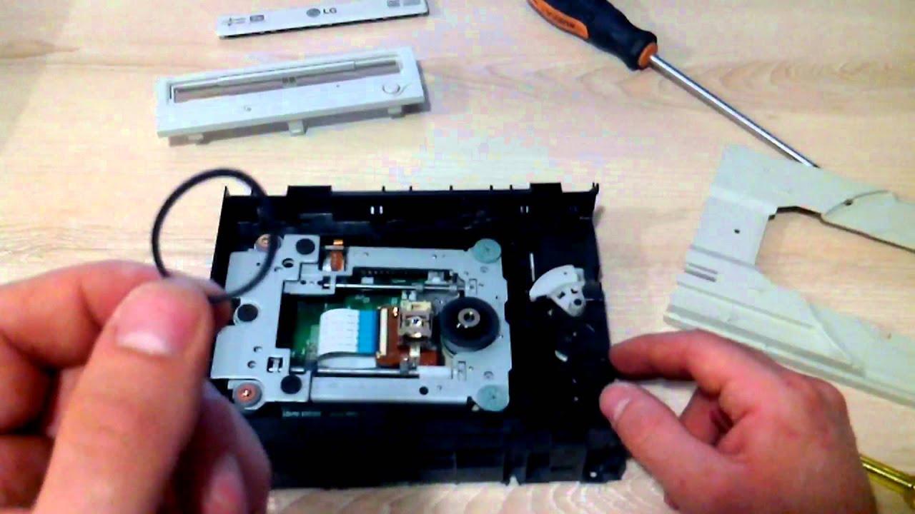 Ремонт дисковода компьютера видео