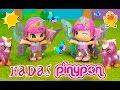 PINYPON Hadas gemelas * JUGUETES de Pinypon en espa�ol