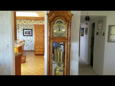 Howard Miller Grandfather Clock Strikes 12