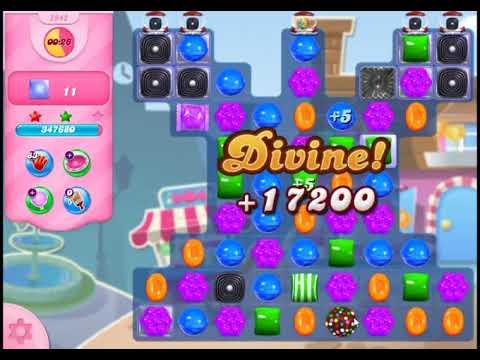 Candy Crush Saga Level 2942 - NO BOOSTERS