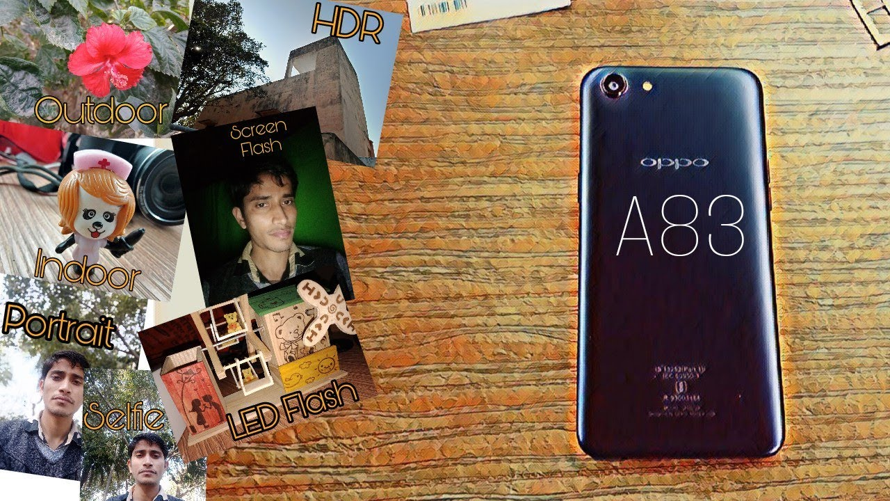 OPPO A83 Camera Review
