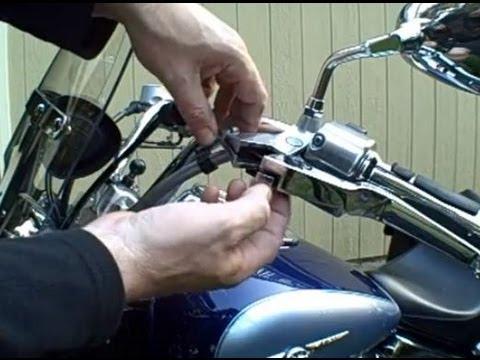 Adjust Throttle Cables On A  Harley Davidson Wide Glide