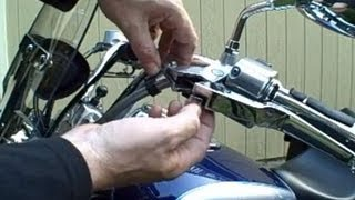 How To Change A Clutch Cable On A 650 V-star