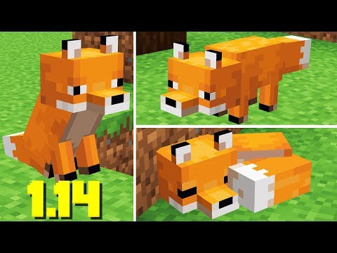 NEW FOXES are Here! Minecraft 1.14 Snapshot Update 19w07a thumbnail