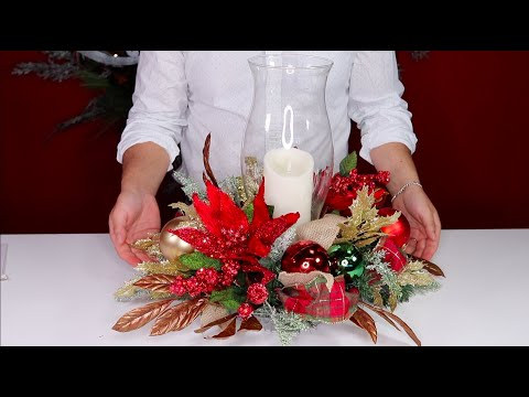 How To make A Christmas Centerpiece On A Budget / Olivia's Romantic Home Collaboration