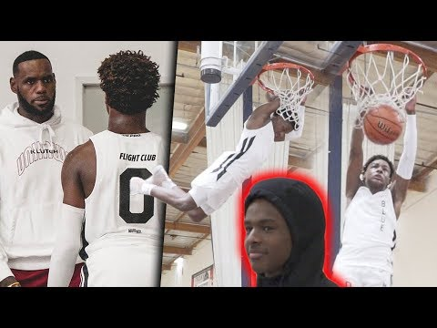 Bronny James WINS 2 CHIPS In 1 Tournament! Looking Like LeBron!! LA Classic