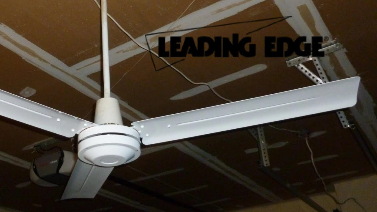 "Leading Edge 56"" Industrial Ceiling Fan"