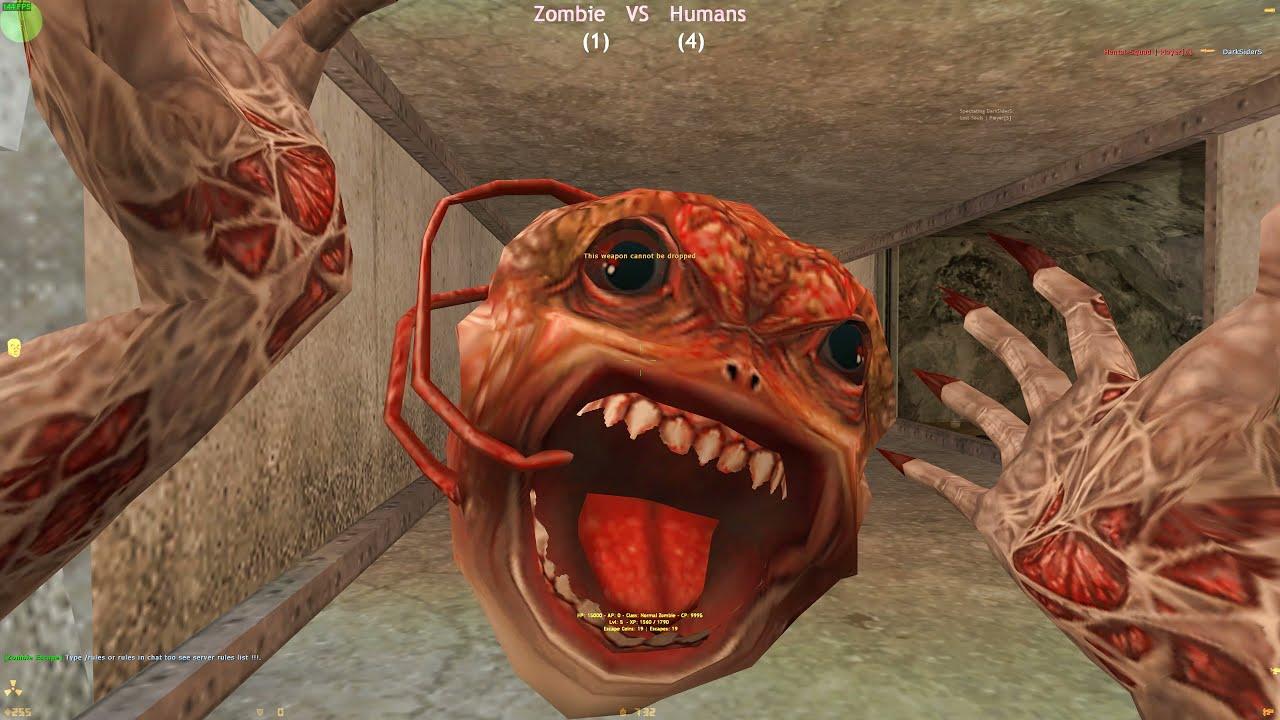 Counter-Strike: Zombie Escape Mod - ze_Area51_v1 | IsR