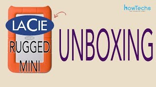 LaCie Rugged Mini External USB Drive - Unboxing