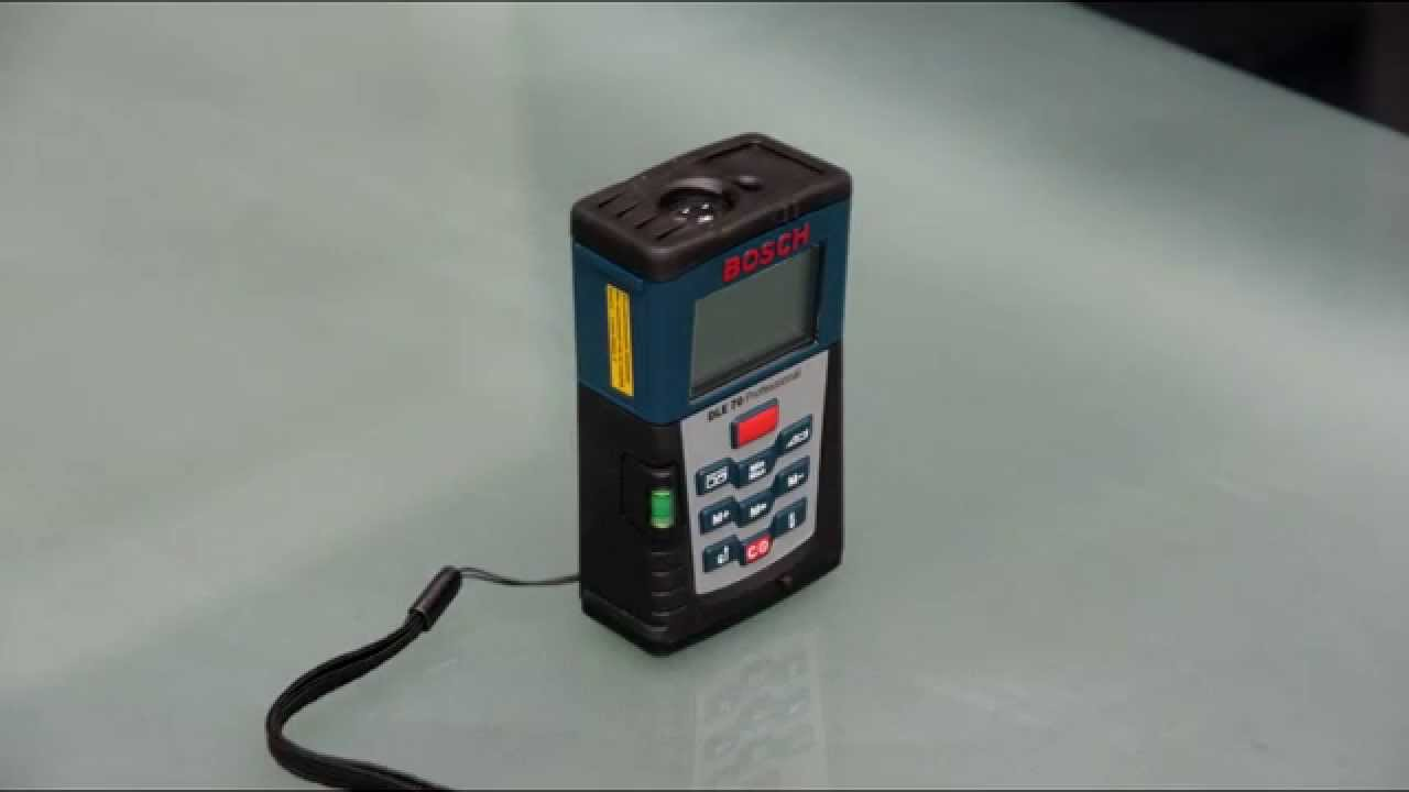 Dalmierz laserowy bosch dle professional  youtube