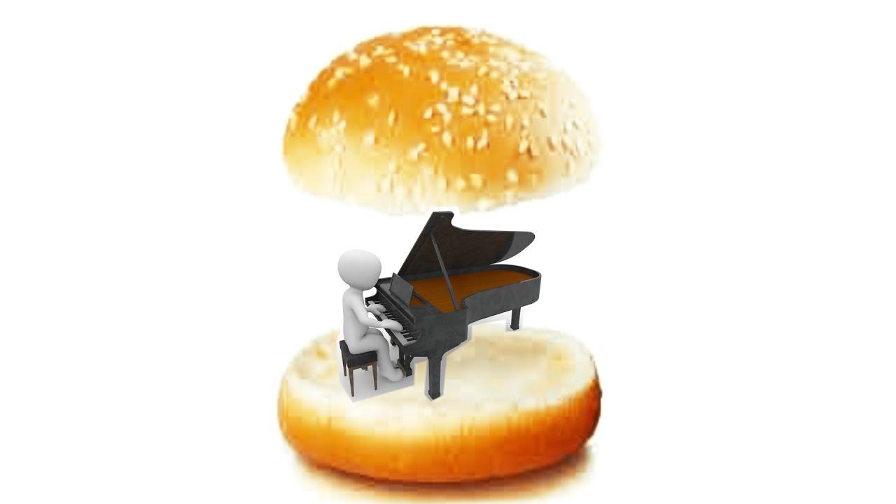 참깨빵 위에 피아노
