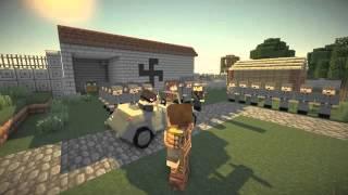 Minecraft сериал-Великая Отечественная война#4