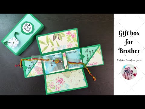 Explosion Box for Brother || Raksha Bandhan Special || Gift Box for brother