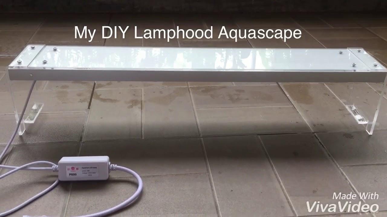 Lampu Aquascape Diy 60cm Support By Barock Moss Jakarta Led Yamano 3 Watt Timur